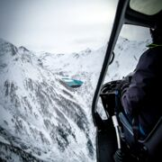 Breathtaking view during a sightseeing flight | © Zell am See-Kaprun Tourismus