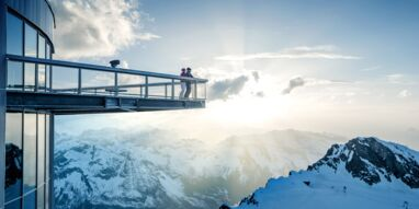 Top of Salzburg viewing platform on the Kitzsteinhorn at 3,029 m | © Kitzsteinhorn