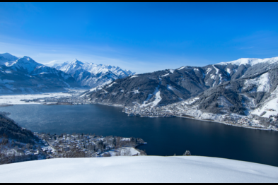View from Mitterberg on Zell am See-Kaprun, Schmittenhöhe and Kitzsteinhorn | © Zell am See-Kaprun Tourismus