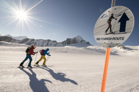 Ski touring at the glacier in Zell am See-Kaprun | © Kitzsteinhorn