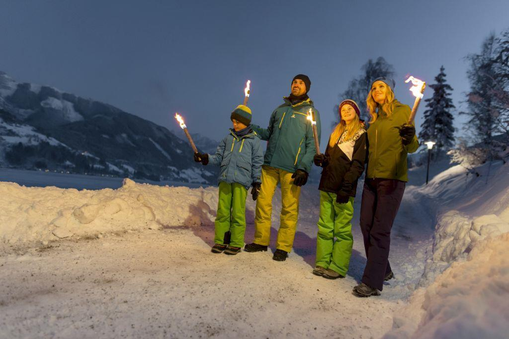 Guided Torchlight Walk in Kaprun