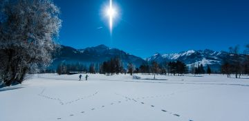Cross-country ski track | winter holidays | © Zell am See-Kaprun Tourismus