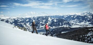 Winter hike on the mountain | © Zell am See-Kaprun Tourismus