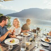 Dinner with a view in your summer holiday | © Zell am See-Kaprun Tourismus