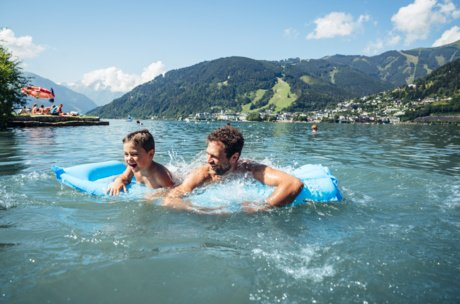 Summer vacation at the lake in Salzburg | © Zell am See-Kaprun Tourismus