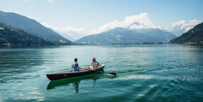 Couple vacation in Austria | © Zell am See-Kaprun Tourismus