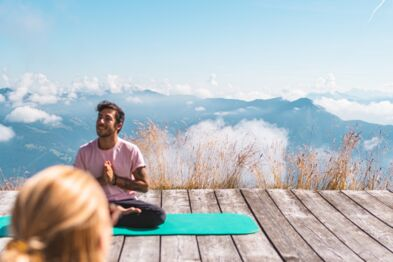 Holiday with yoga, wellness and pure relaxation | © Johannes Radlwimmer