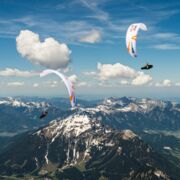 Some athletes during competition: Red Bull X-Alps | © Red Bull X-Alps, Felix Woelk