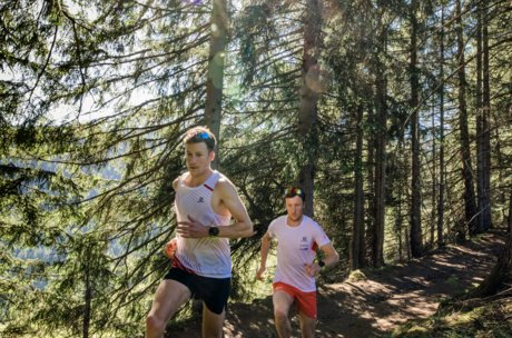 Running tracks in the forest | © Zell am See-Kaprun Tourismus