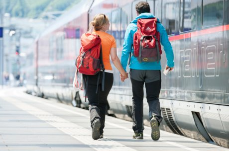 Arrival by train: Vacation in Zell am See-Kaprun | © ÖBB, Harald Eisenberger